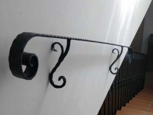 Wrought Iron Bespoke Handrail