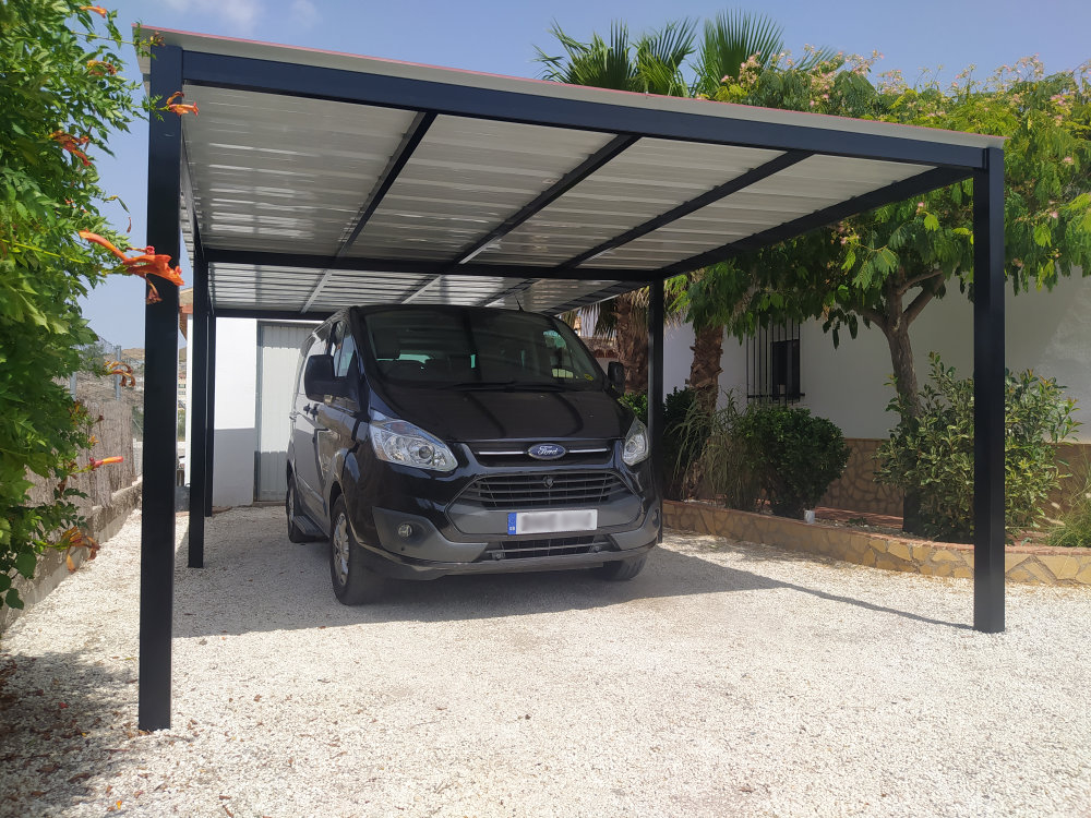 Read more about the article Carport 7x4m
